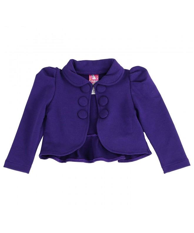 LELEFORKIDS Toddlers Ladonna Classic Crop Jacket