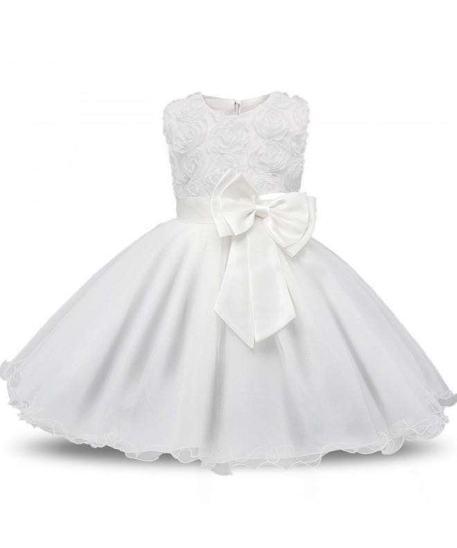 NNJXD Sleeveless Holiday Princess Dresses