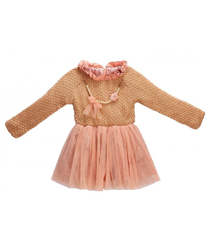 Beloved Lucia Girls Winter Dresses