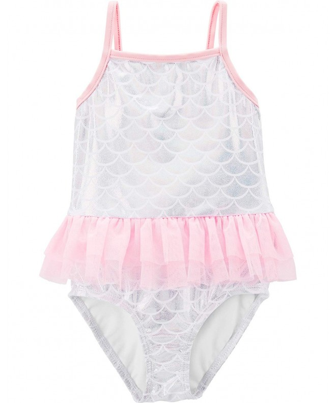 Carters Girls Heart Piece Swimsuit