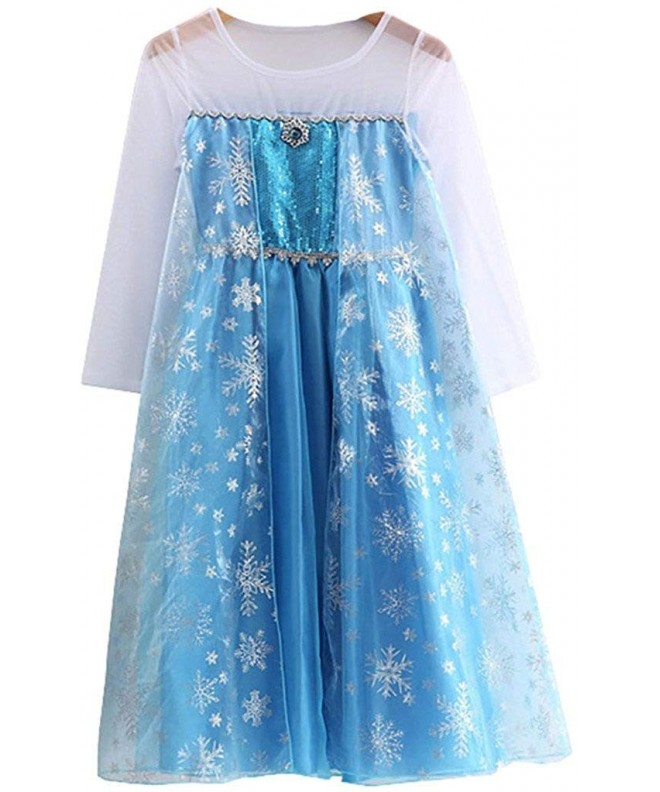 Girls Dress flower sleeve 1025 1