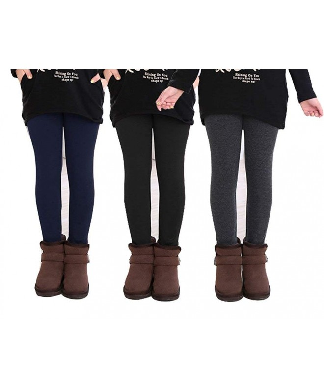 Beloved Lucia Winter Leggings Black Navy Grey