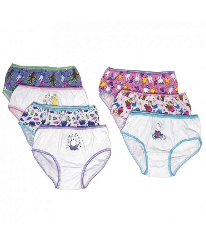 Handcraft Girls 7 Pack Miffy Underwear
