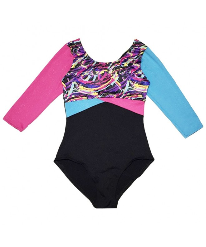SanReach Metallic Gymnastics Athletic Leotard
