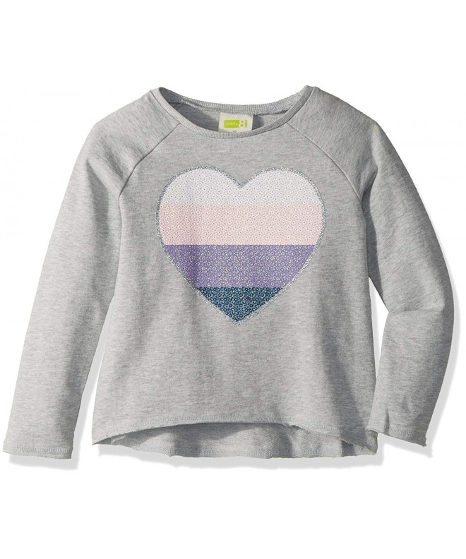 Crazy Girls Toddler Heart Pullover