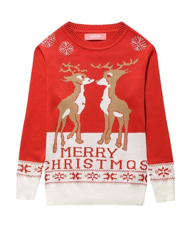 Camii Mia Reindeer Pullover Christmas