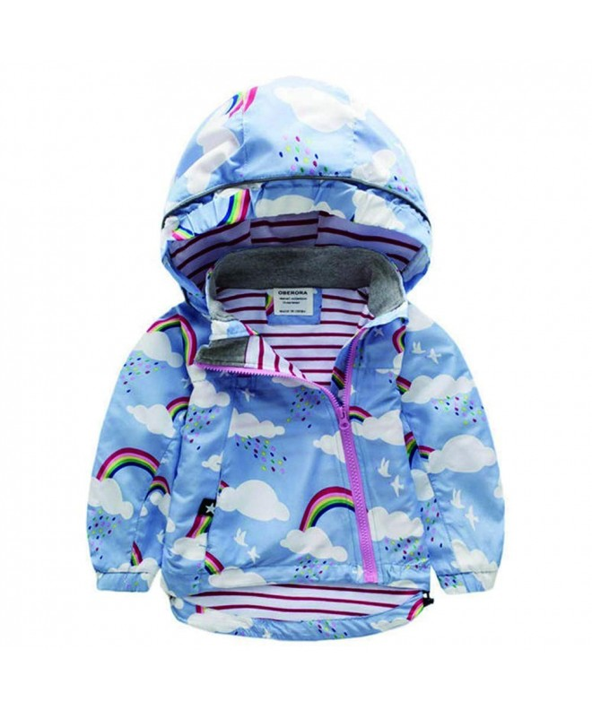 szshohxw Jacket Windbreaker Cartoon Outerwear