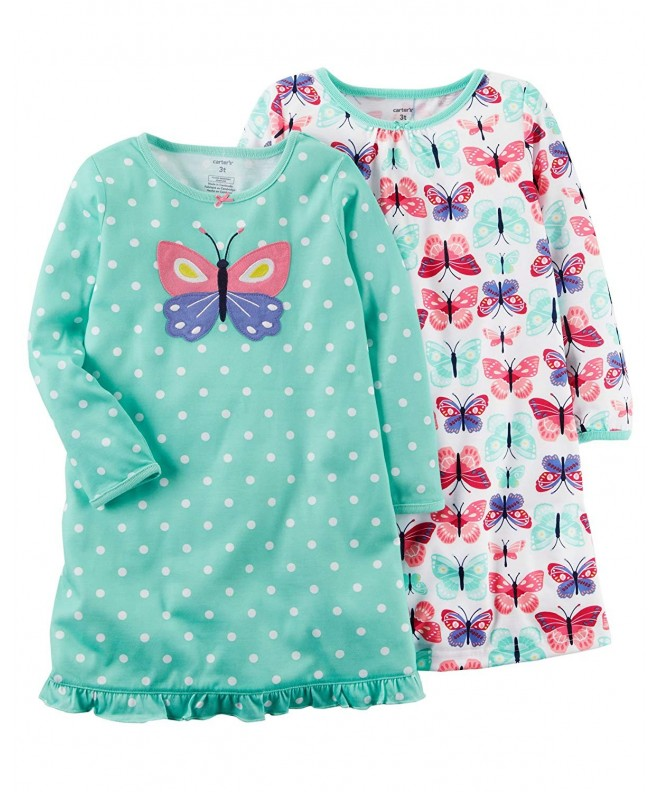 Carters Girls 4 14 Sleep Gowns