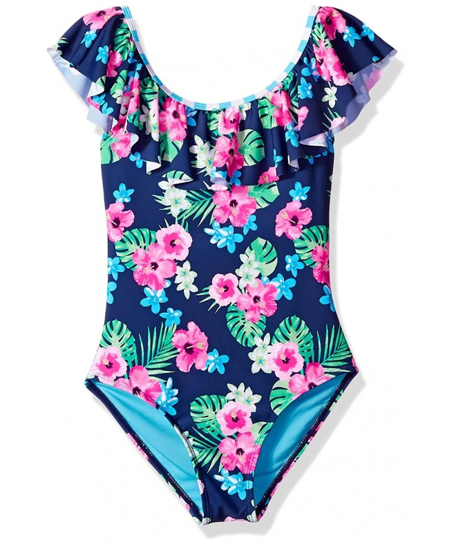 Angel Beach Girls Swimsuit Flounce