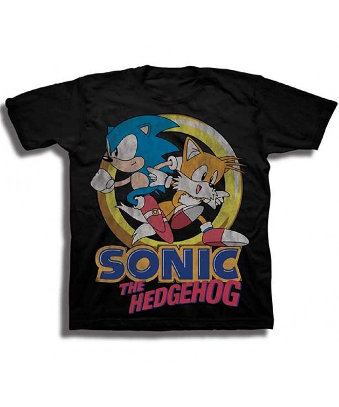 Sonic Hedgehog Little Sleeve Graphic