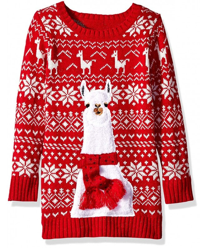 Blizzard Bay Girls Christmas Sweater