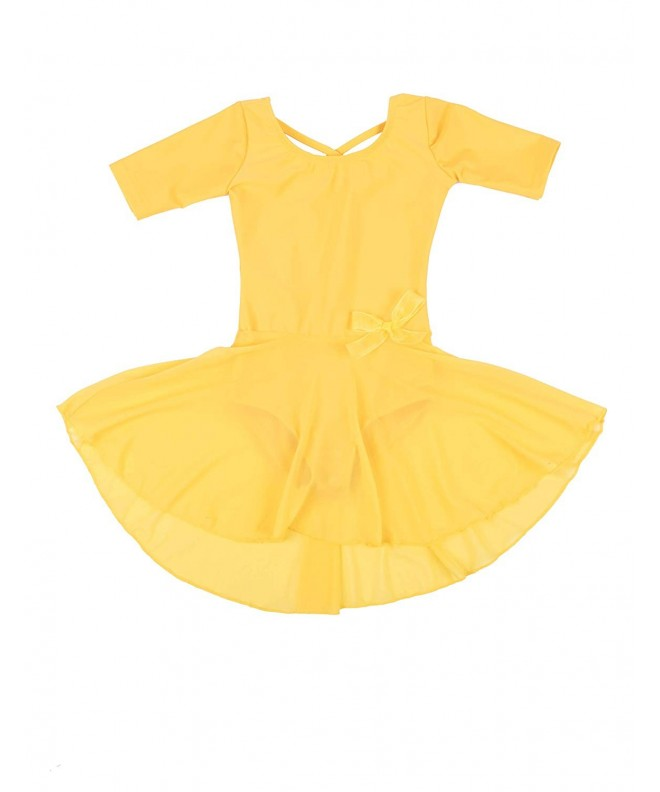 Leveret Leotard Sleeve Toddler X Large Variety