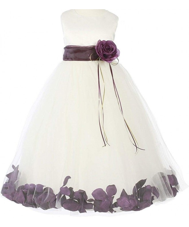 Little Sleeveless Flower Flowers Dresses