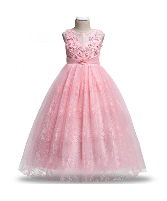 FKKFYY Girls Princess Pageant Dress