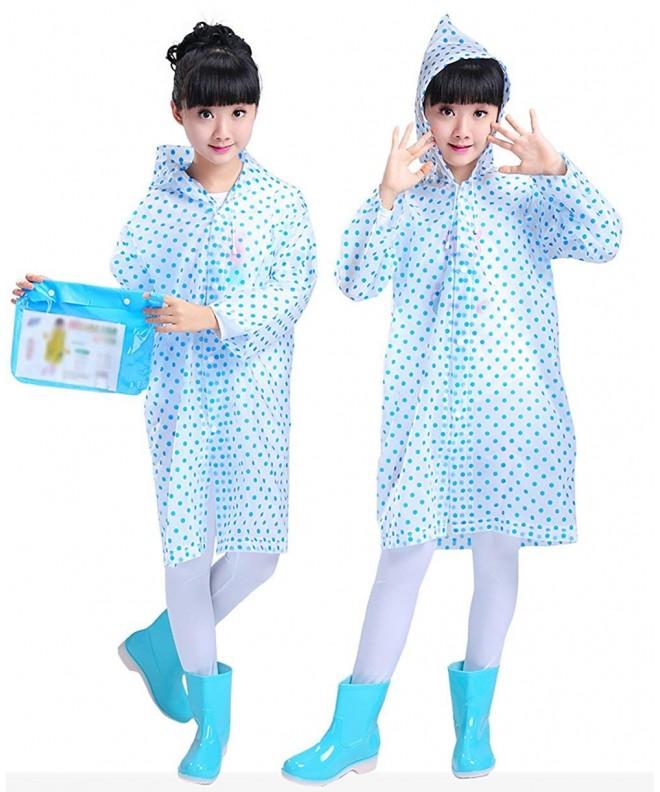 Smartown Hooded Poncho Raincoat Rainwear
