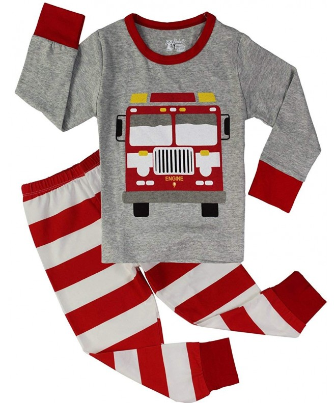 Truck Pajamas Toddler Sleepwear Clothes