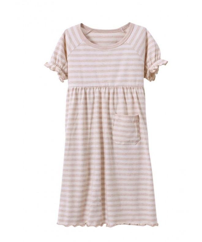 MZLIU Organic Nightgown Sleepwear Pajamas
