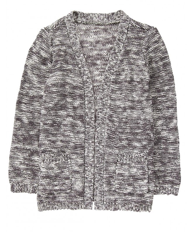 Crazy Girls Little Grey Cardigan